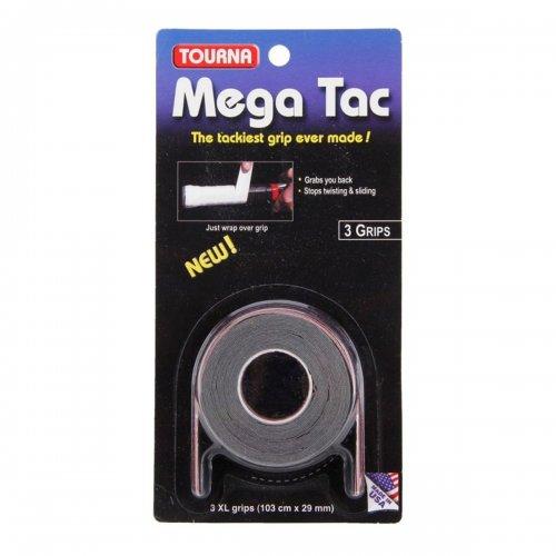 Overgrip Touna Mega Tac Preto Com 03 Overgrips - Unique