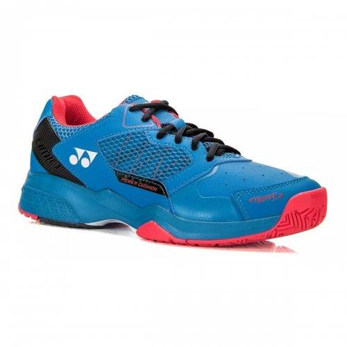 Tênis Power Cushion Lumio 2 All Court Azul Preto e Vermelho - Yonex