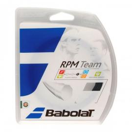Imagem -  Corda Babolat RPM Team 16L 1.30mm Preta - Set Individual - Babolat