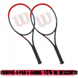 Imagem - 02 Raquetes de Tênis Clash 98 16x19 310g L4 - Wilson