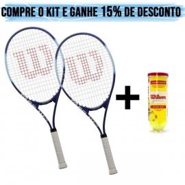 Imagem - 02 Raquetes de Tênis Tour Slam e Championship - Wilson