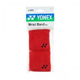 Imagem - Munhequeira Vermelha Curta Dupla com 02 unidades - Yonex