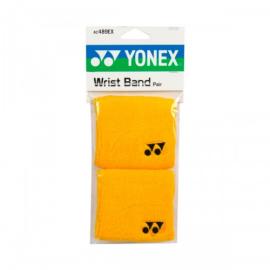 Imagem - Munhequeira Amarela Curta Dupla com 02 unidades - Yonex