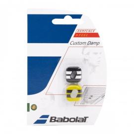 Imagem - Antivibrador Custom Damp x2 Preto e Amarelo - Babolat
