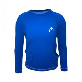 Imagem - Camiseta Infantil Line Proteção UV Azul Royal - Head