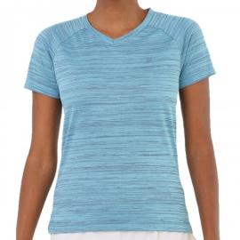 Imagem - Camiseta Feminina Match Azul - Fila