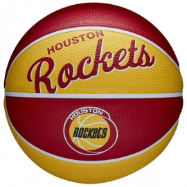 Imagem - Bola de Basquete NBA Team Retro Mini Houston Rockets - Wilson