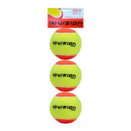 Imagem - Bola de Beach Tennis Com 03 Unidades - Vision