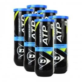 Imagem - Bola de Tênis Atp Championship Pack c/ 6 Tubos - Dunlop