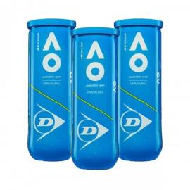 Imagem - Bola de Tênis Australian Open Pack C/ 03 Tubos - Dunlop