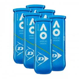 Imagem - Bola de Tênis Australian Open Pack C/ 6 Tubos - Dunlop