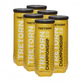 Imagem - Bola de Tênis Championship Pack c/ 06 Tubos - Tretorn