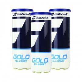 Imagem - Bola de Tênis Gold Pack c/ 3 Tubos - Babolat