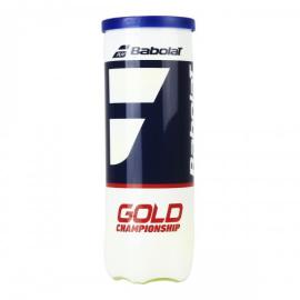 Imagem - Bola de Tênis Gold Championship Tubo c/ 3 Bolas - Babolat