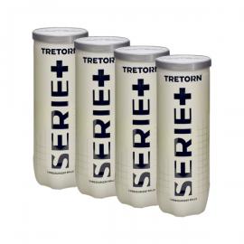 Imagem - Bola de Tênis Serie+ Pack c/ 04 Tubos - Tretorn