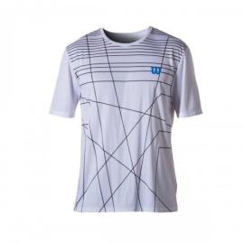 Imagem - Camiseta Amplifeel Branco e Preto - Wilson