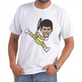 Imagem - Camiseta Djokovic Branca - Casa Do Tenista
