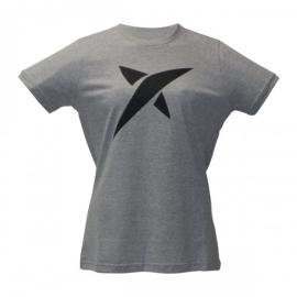 Imagem - Camiseta Estrela Cinza Feminina - Drop Shot
