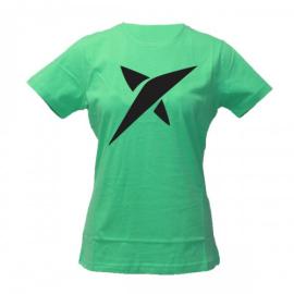 Imagem - Camiseta Estrela Verde Feminina - Drop Shot