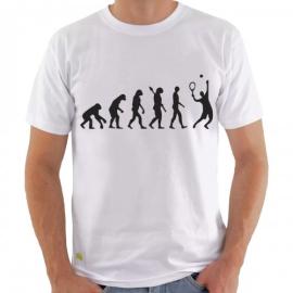 Imagem - Camiseta Evolução Tennis Branca - Casa Do Tenista