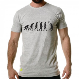 Imagem - Camiseta Evolução Tennis Mescla Cinza - Casa Do Tenista