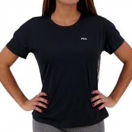 Imagem - Camiseta Feminina Basic Sports Preta - Fila