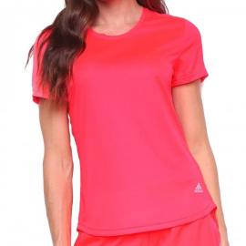 Imagem - Camiseta Feminina Run It Rosa - Adidas