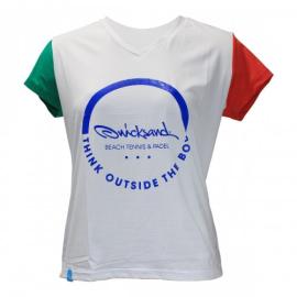 Imagem - Camiseta Feminina Slightech Italia - Quicksand