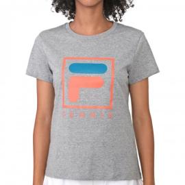 Imagem - Camiseta Feminina Soft Urban Mescla - Fila