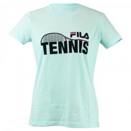 Imagem - Camiseta Feminina Tennis Racket Azul - Fila