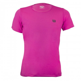 Imagem - Camiseta Infantil Trainning II Pink - Wilson