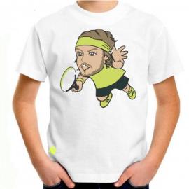 Imagem - Camiseta Infantil Tsitsipas Branca - Casa Do Tenista