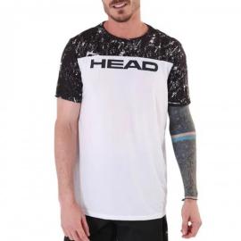 Imagem - Camiseta com Recorte Frontal Cracked - Head