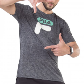 Imagem - Camiseta DNA II Mescla Logo Verde - Fila