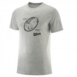 Imagem - Camiseta Masculina Draw Mescla - Wilson