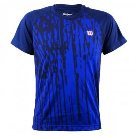 Imagem - Camiseta Infantil Performance I Azul - Wilson
