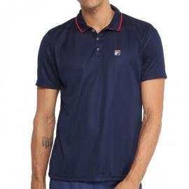 Imagem - Camiseta Polo Aztec Box Azul Marinho - Fila