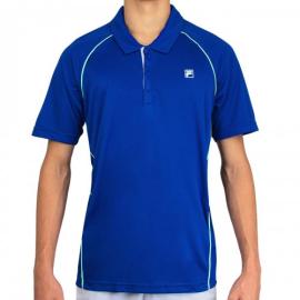Imagem - Camiseta Polo Cinci Azul e Verde - Fila