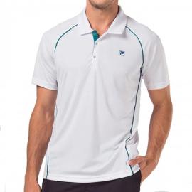 Imagem - Camiseta Polo Cinci Branca e Verde - Fila