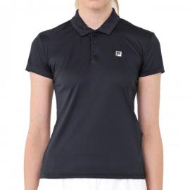 Imagem - Camiseta Polo Feminina Detail Preta - Fila