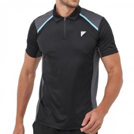 Imagem - Camiseta Polo Fusion Plaid Preta - Fila