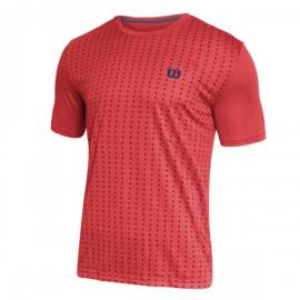 Imagem - Camiseta Rush Vermelha Modelo 2021 - Wilson