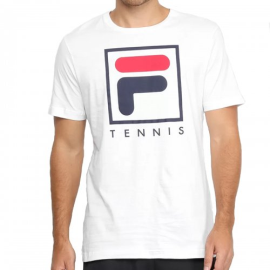 Imagem - Camiseta Soft Urban Branco e Azul - Fila