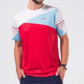 Imagem - Camiseta Team 84 Vermelha e Branca - Fila