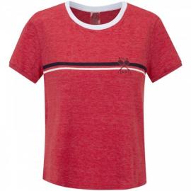 Imagem - Camiseta Tennis Vermelha/Branco - Fila
