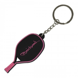 Imagem - Chaveiro de Raquete de Beach Tennis Rosa - Quicksand