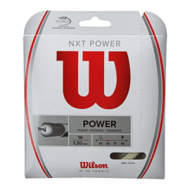 Imagem - Corda Nxt Power 16 1.30mm Natural Set Individual - Wilson