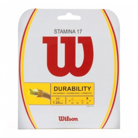Imagem - Corda Stamina 17 1.25mm Set Individual Branca - Wilson