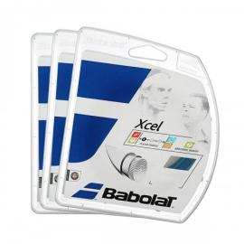 Imagem - Corda Xcel 15L 1.35mm Azul - Pack com 3 Sets - Babolat