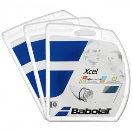 Imagem - Corda Xcel 17L 1.25mm Azul - Pack com 3 Sets - Babolat